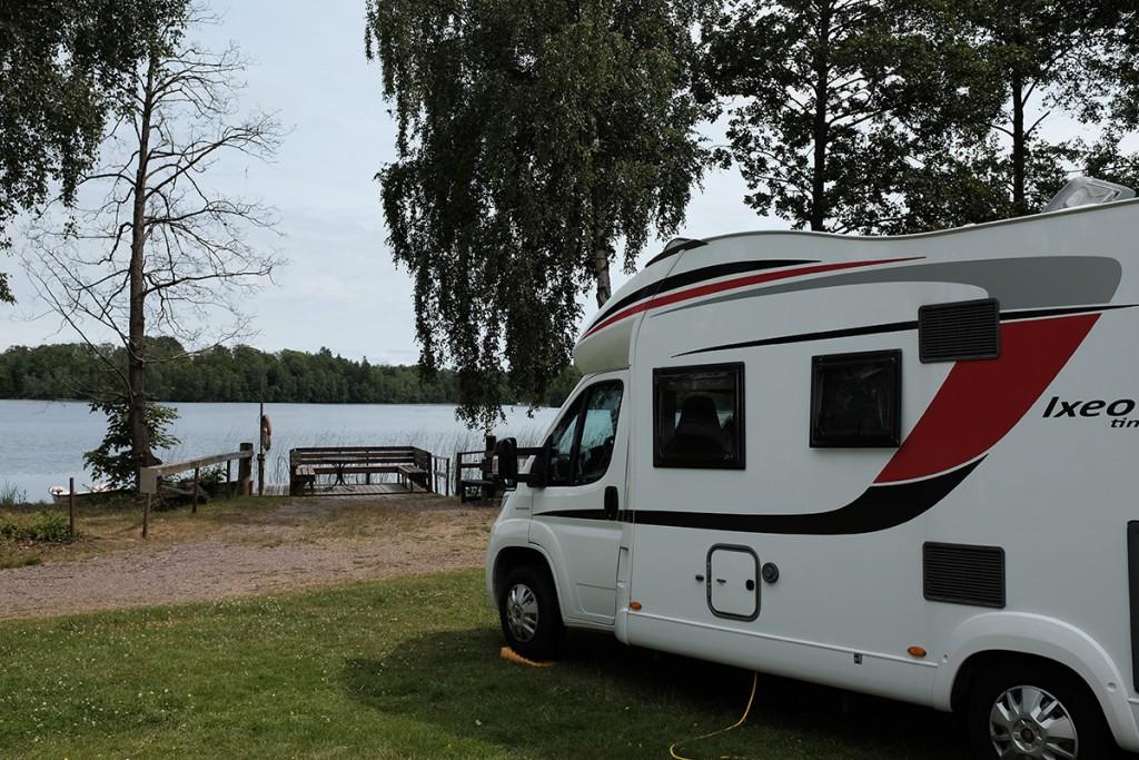 Camping mit Ausblick